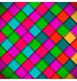 Bright colors mosaic pattern vector image