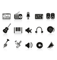 music sound equipment icon vector image