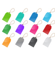 price and labels tag set vector image