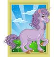 unicorn fairytale vector image