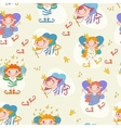 cartoon girls fairies vector image