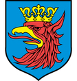 Szczecin coat-of-arms vector image