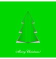 Christmas Tree Card vector image