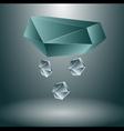 Snowfall concept vector image vector image