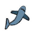 shark icon image vector image