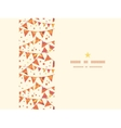 Christmas Textured Decorations Flags Horizontal vector image vector image