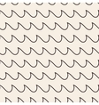 Waves stripped geometric seamless pattern vector image