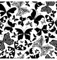 repeating white pattern vector image