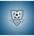 logo for a football team or a league vector image