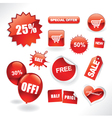 sale items vector image