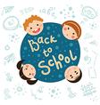 School tag vector image