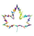 maple leaf design vector image