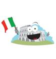 funny Colosseum vector image