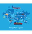 Logistics Concept vector image