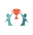 Winners icon Championship concept Logo design vector image vector image