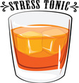 Stress Tonic vector image