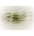Light dirty green abstract technology background vector image vector image