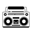 boom box icon image vector image