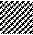 ethnic pattern black and white motifs vector image
