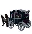 Halloween Carriage vector image