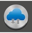 cloud apps icon vector image vector image