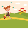Pupil is back to school vector image vector image