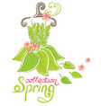 spring fashion collection vector image