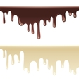 melting chocolate vector image