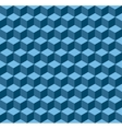 Blue geometric seamless background vector image vector image