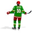 al 0711 hockey poster 03 vector image
