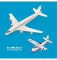 Jet Set Isometric View vector image
