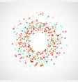 bright colorful paint splatter splash explosion vector image