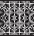 stylish black and white graphic pattern vector image