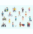 street style people vector image