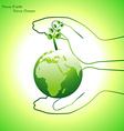 earth concept design vector image