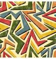 Absract graffiti seamless pattern vector image