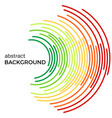 abstract background with colorful rainbow lines vector image