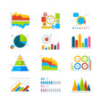 Modern elements for infographics vector image