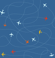 Different plane ways abstract scheme Seamless vector image