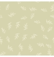 Seamless pattern with leaves Nature background vector image vector image