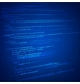 HTML Coding Background vector image vector image