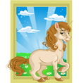 fairytale unicorn vector image