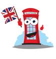 funny english telephone vector image