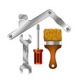 Home repair tool symbol for business vector image