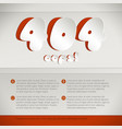 web page mistake 404 design concept vector image