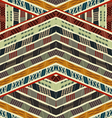 Ethnic seamless texture vector image