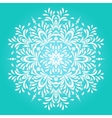 Winter background for Christmas card vector image