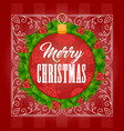 christmas background one vector image