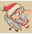Drunk lamb Symbol 2015 vector image