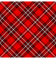 Seamless tartan plaid pattern vector image